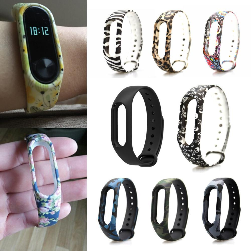 Colorful font b Watch b font Strap Mi band 2 Bracelet Strap Wristband Replacement Band Accessories