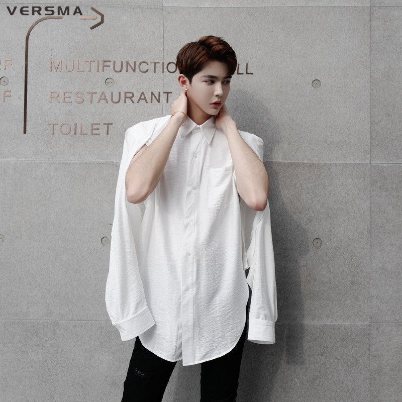 vintage oversize blouse