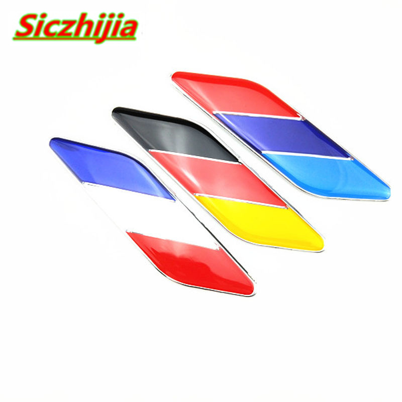 Interior Mouldings Car Styling Germany France Italy Flag Car Sticker For Chevrolet Cruze Trax Aveo Lova Sail Epica Captiva Malibu Volt Camaro