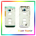New For HTC One Dual Sim 802t 802d 802w M7 Housing Door Middle Frame (Dual Sim) Black White Color +Tools Free Shipping