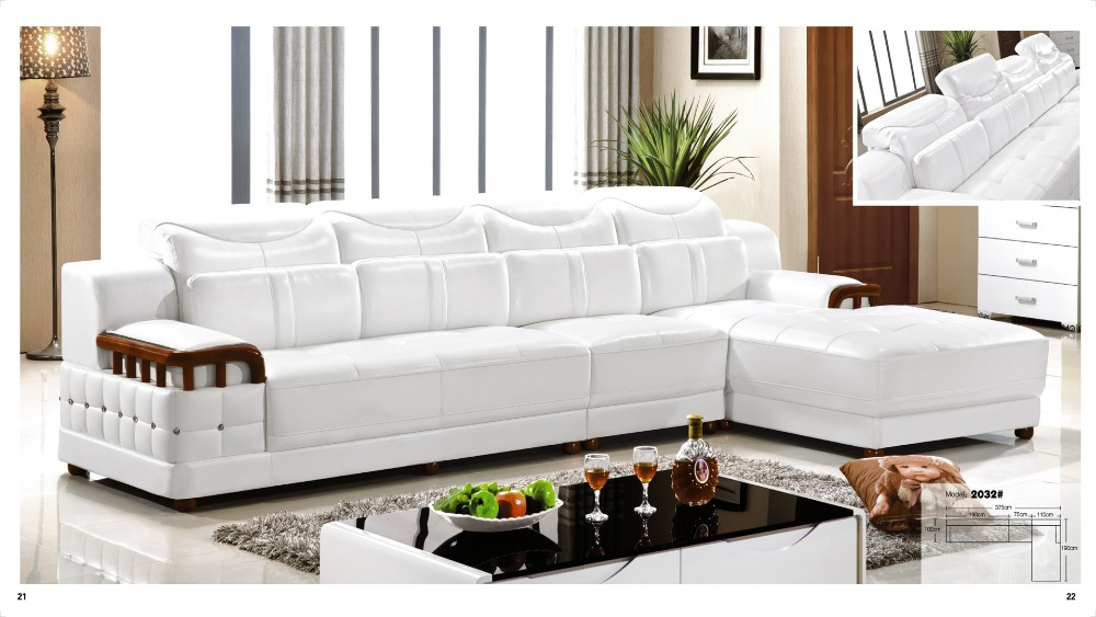 Iexcellent Designer Corner Sofa Bedeuropean And American Style Sofarecliner Italian Leather Set Living Room Furniture