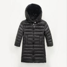 New Solid Mid-Long Length Boys Snowsuit Hooded Baby Girl Snowsuit Snow Wear KW-1642
