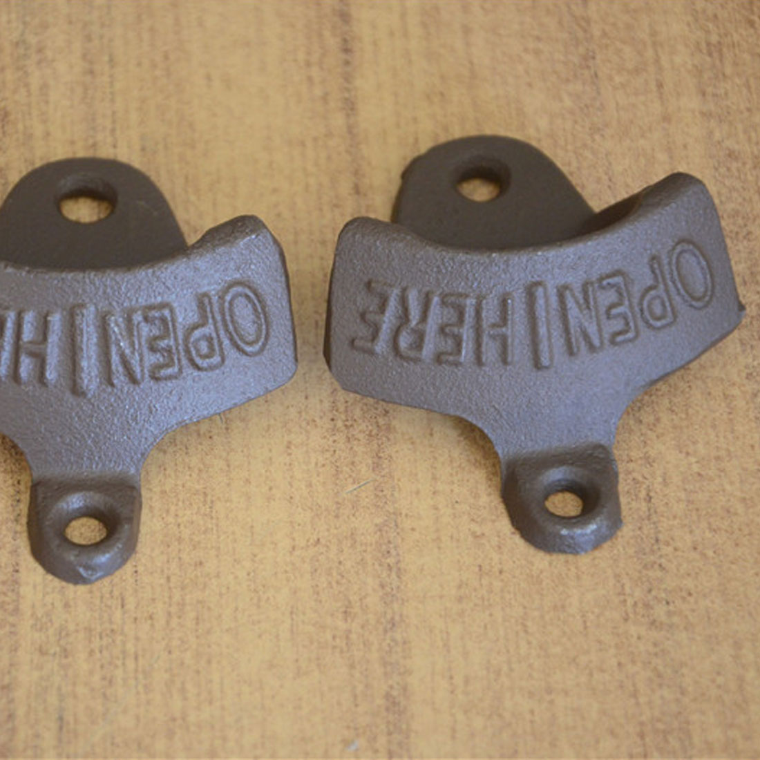 Top Sale 1 pc Vintage Rustic Iron OPENER Beer Bottle Opener Wall ...
