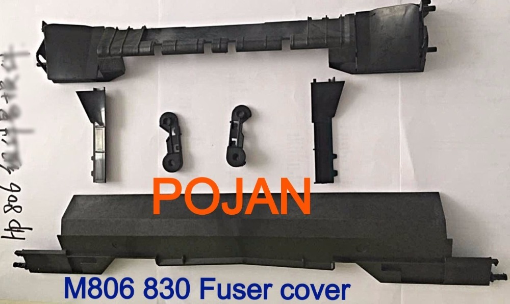 Fuser Cover For C2H57A C2H56A RM1-9712 RM1-9713 laserjet M806 830 Fuser Kit  PRINTER PARTS FUSER FILM COVERS ultimaker 2 extended 3d printer parts diy white color 400mm l motor cover electric cover and controller cover metal full kit