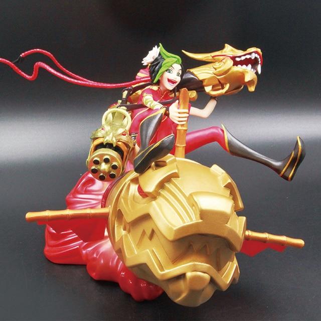Liebe Danke Jinx Chinese New Year Roten Goldene PVC Anime Figur Spielzeug Collectibles Hobby Modell Geschenk
