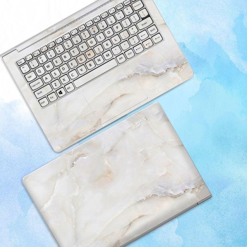 10 pcs/lot autocollant pour ordinateur portable autocollant de peau pour Macbook Air Microsoft Dell HP ASUS Lenovo Samsung ABC côtés autocollant de couverture complète - 3