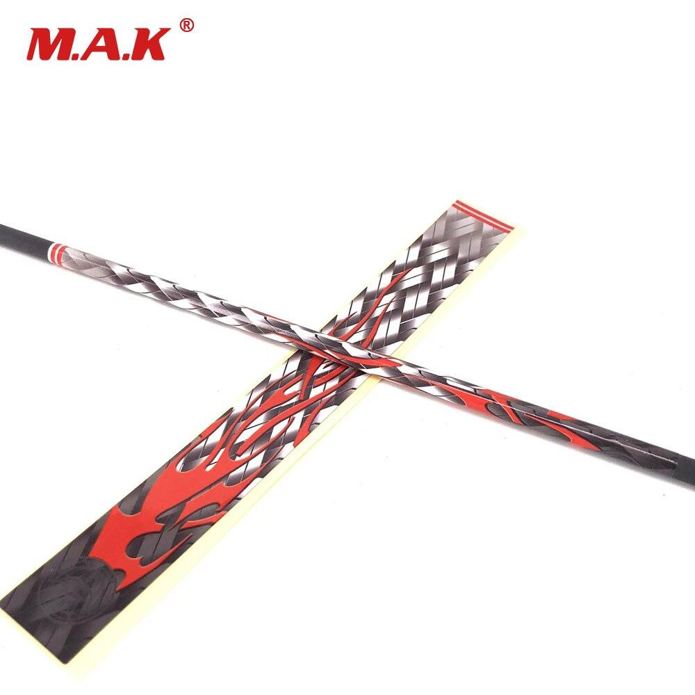 12 Pcs/set Arrow Shaft Skin Stickers Double-sided Adhesive Arrow Wraps Fletching DIY Arrow For Archery Hunting Shooting