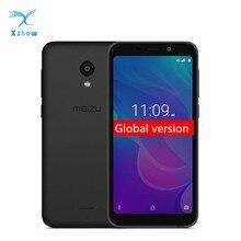 هاتف Meizu C9 Pro الأصلي بذاكرة وصول عشوائي 3 جيجا بايت وذاكرة قراءة فقط 32 جيجا بايت النسخة العالمية هاتف ذكي رباعي النواة بشاشة 5.45 بوصة عالية الدقة 13 ميغا بكسل بطارية خلفية 3000mAh يُفتح للوجه