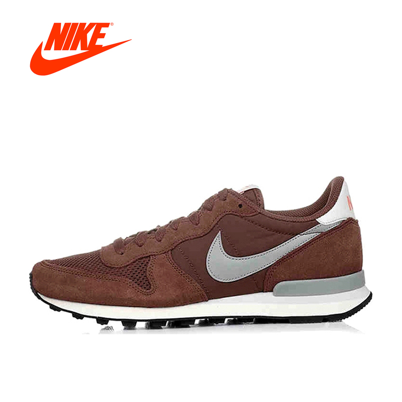 Original New Arrival Official Nike Classic Cortez Men's Breathable Running Shoes Brown Sneakers mini pet collar gps tracker ip66 waterproof real time google maps tracking locator for dog cat kids 2g network free app