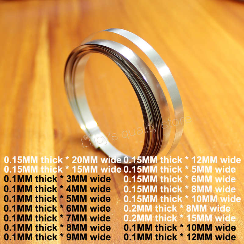 1M Battery Pack DIY Nickel Plated Nickel Plated Steel Strip 18650 Battery Connected Nickel Plate Wide 5MM/6MM/8MM