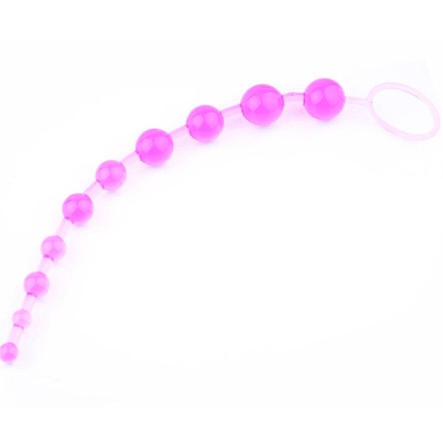 Anal Beads for Beginner Flexible Anal stimulator Butt Beads Best Anal font b Sex b font
