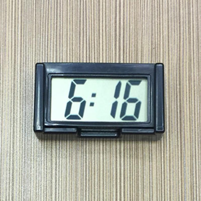 Mini Digital Large LCD Auto Car Truck Dashboard Date Time Calendar Clock Stick