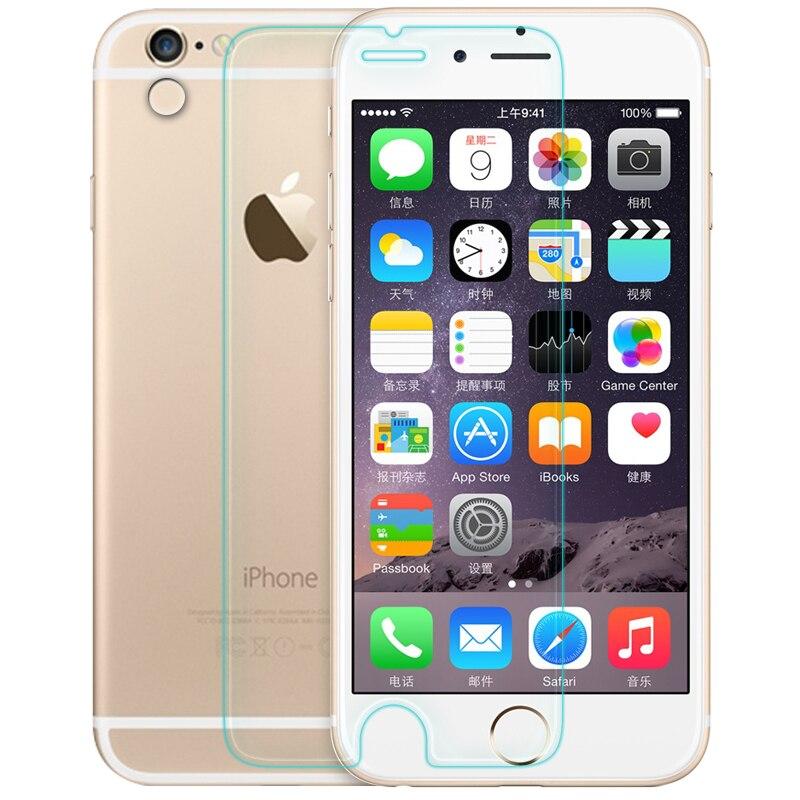 imágenes para Para el Iphone 6 Nillkin 9 H increíble Anti explosión 2.5D borde redondo vidrio templado Protector de pantalla para el Iphone 6