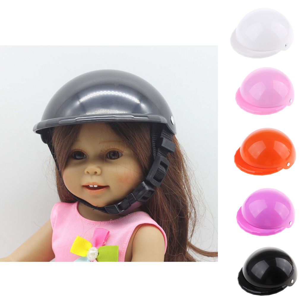 18 Dolls Plastic Bike & Skate Helmet for American Girl Doll Outgoing Dolls' Cycling Skateboard Scooter Skate Dolls Accessories 6 5 adult electric scooter hoverboard skateboard overboard smart balance skateboard balance board giroskuter or oxboard
