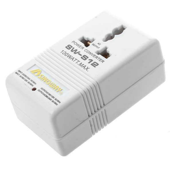 Professional 110/120V to 220/240V Step Up/Down Dual Voltage Converter Transformer Travel Adapter Switch 200watt single phase ac 220v to 110v step down travel voltage transformer volt converter adapter