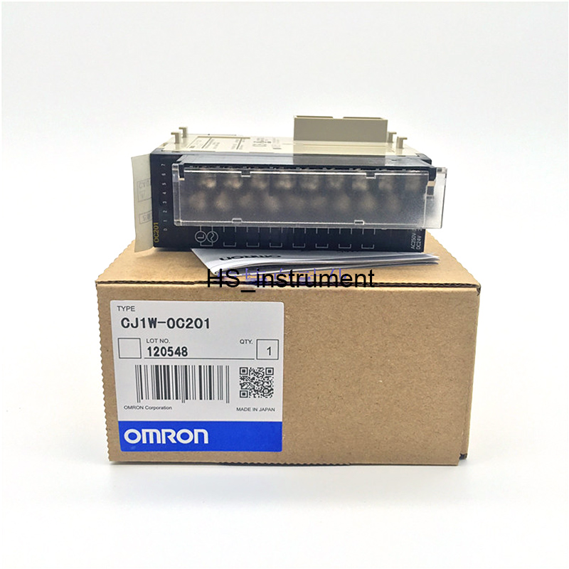 NEW&ORIGINAL CJ1W-OC 201 Omron I/O Module Model , 8-point Contact Output Unit with Terminal Block new original regulator lr 1 8 d o mini 162590