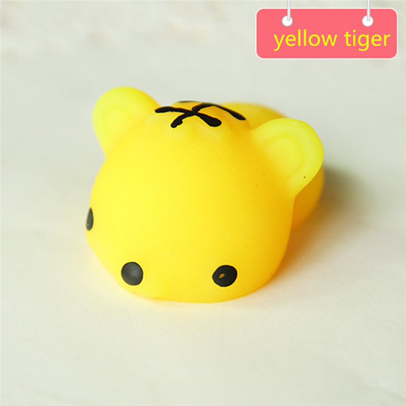 16 Species Soft Focus Squeeze Cute Yellow Tiger Healing Toy Fun Joke Decompression Toys Great Stress Relief Toys Drop Shipping