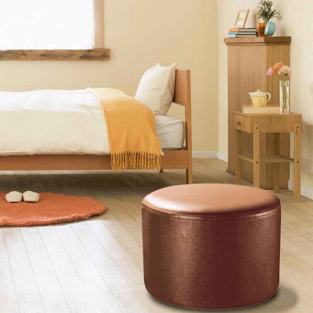 Atractivo Sillas Decorativas De Cuero Con Muebles Otomana Fotos ...