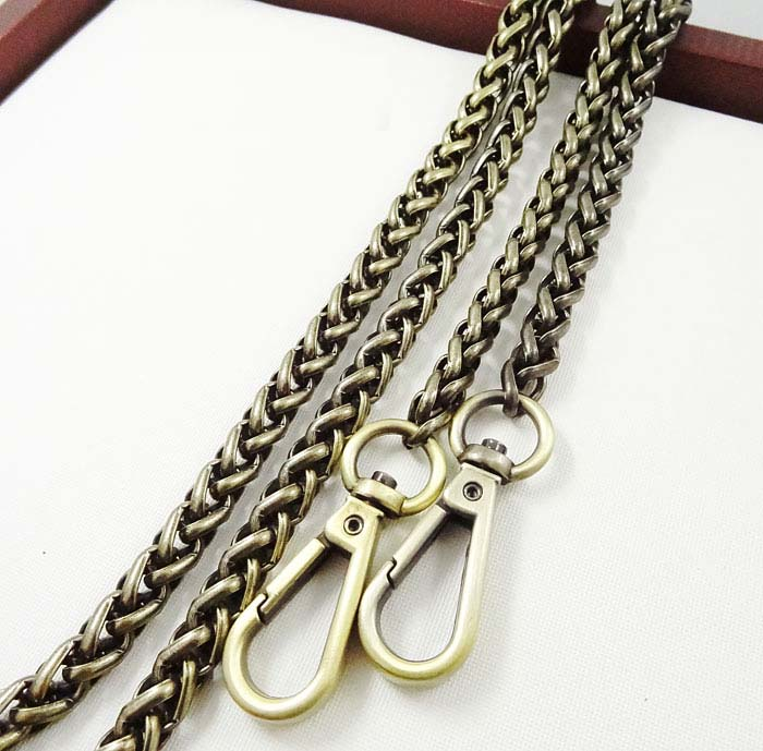 Free shipping Hight Quality bag hardware purse chain strap bag chain handbag replacement ...