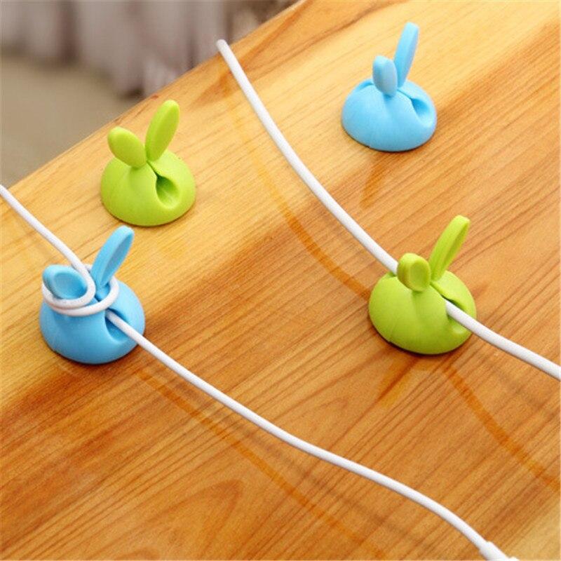 SIANCS-2PCS-Cute-Rabbit-Clip-Earphone-Cable-Winder-Bobbin-clamp-protector-USB-Cable-Ties-Organizer (4)