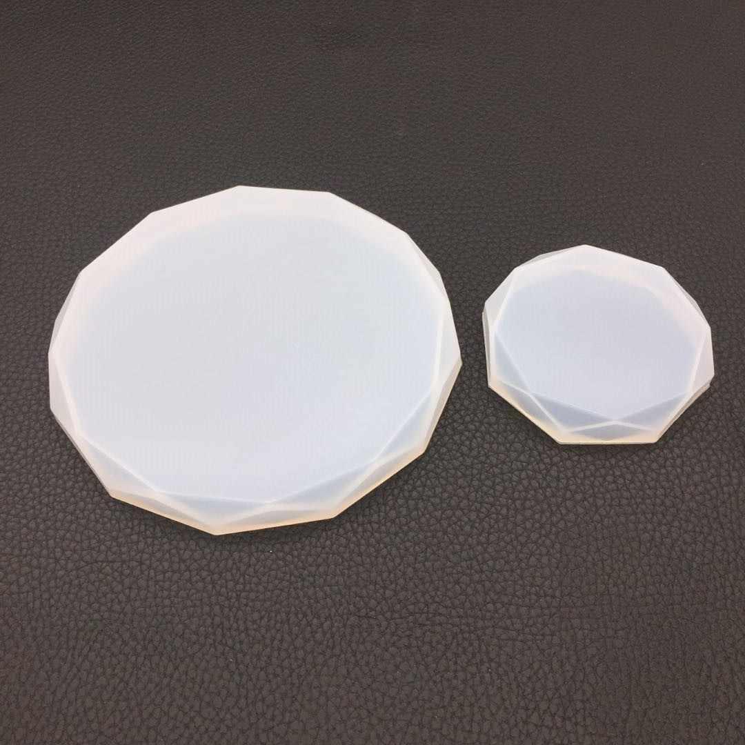 Fai da te Stampo In Silicone per la Resina Epossidica Uv Stampi In Resina Coaster Strumenti di Creazione di Gioielli