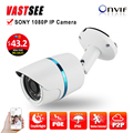 POE 1080P IP camera full hd sony IMX323 Sensor outdoor ONVIF2.4 2.8mm lens option Fixed Bullet Night Vision camaras de seguridad