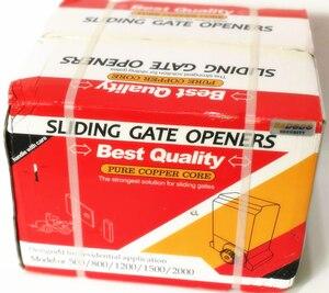 Image 5 - 1200kg 키트 세트 게이트 게이트 슬라이딩 슬라이드 자동 오프너 모터 6m 또는 7m 레일