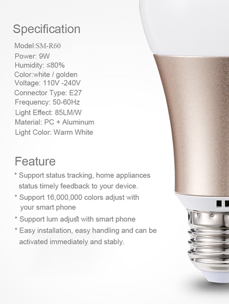 wifi bulb  Details 2