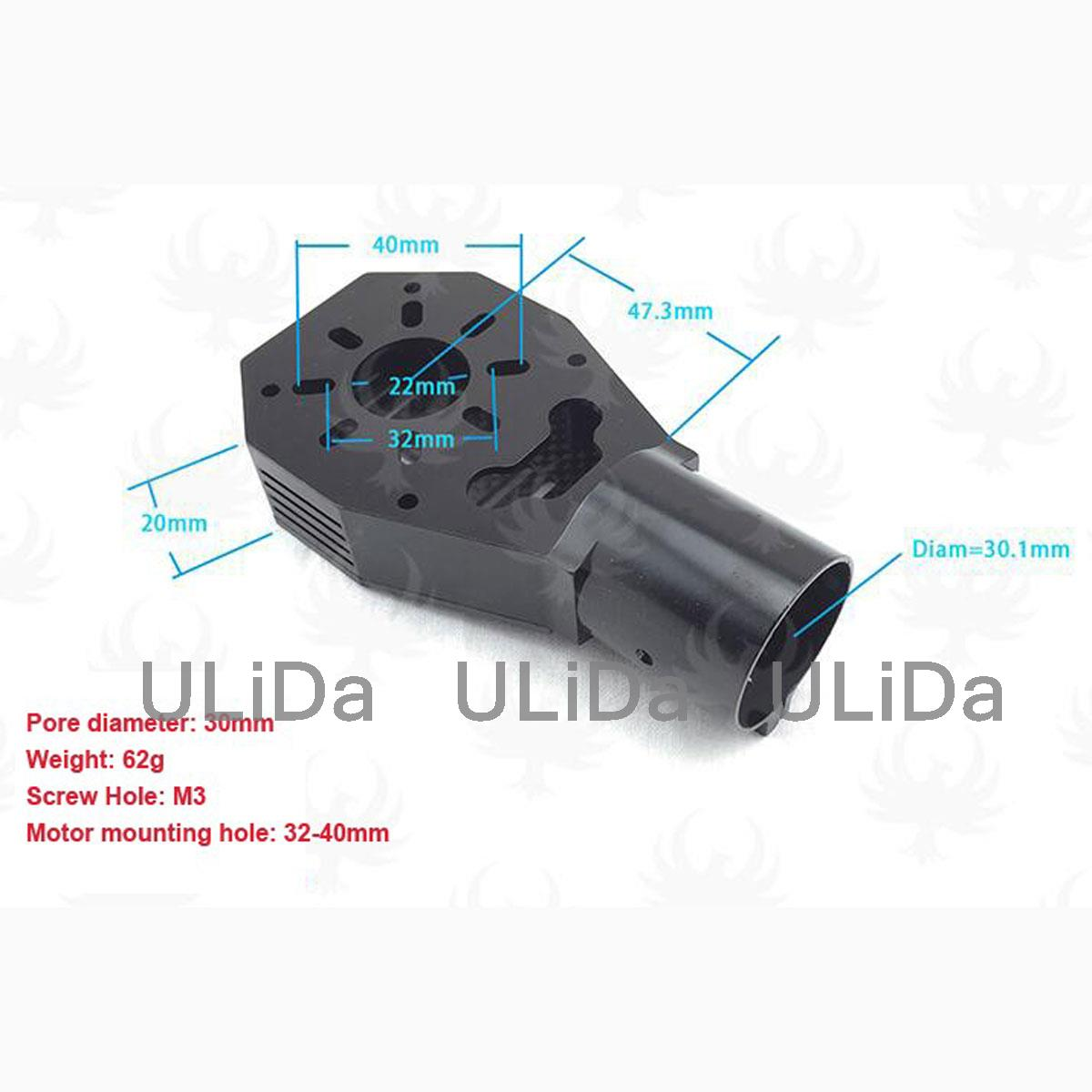 30mm CNC Brushless Motor Mount Plate For RC Multicopter Quadcopter Drone KIT Parts