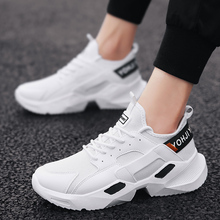2019 spring new casual mesh shoes breathable sports running