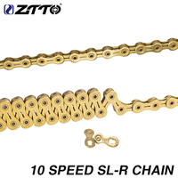 High Quality MTB Mountain Road Bike Cycling 10 Speed 116 Link Stainless Steel Bicycle Chain For