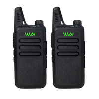 2Pieces UHF 400 470 MHz MINI Handheld Transceiver 2 Way Amature Ham Radio