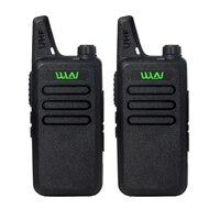 2Pieces UHF 400 470 MHz MINI Handheld Transceiver 2 Way Amature Ham Radio