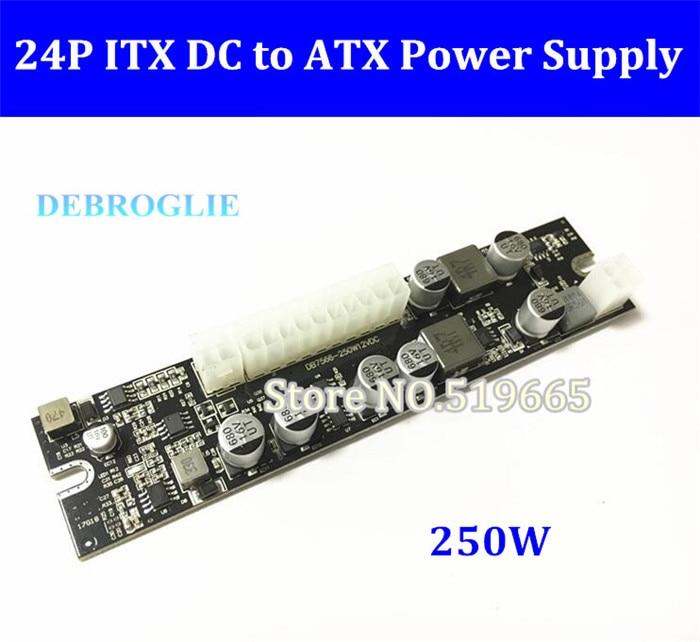 DC DC Interruptor ATX de 12 V 250 Watt Pico ATX NETZTEIL ATX Pico Schaltnetzteil 24pin MINI-ITX DC zu Auto ATX Pc-netzteil Für Computer
