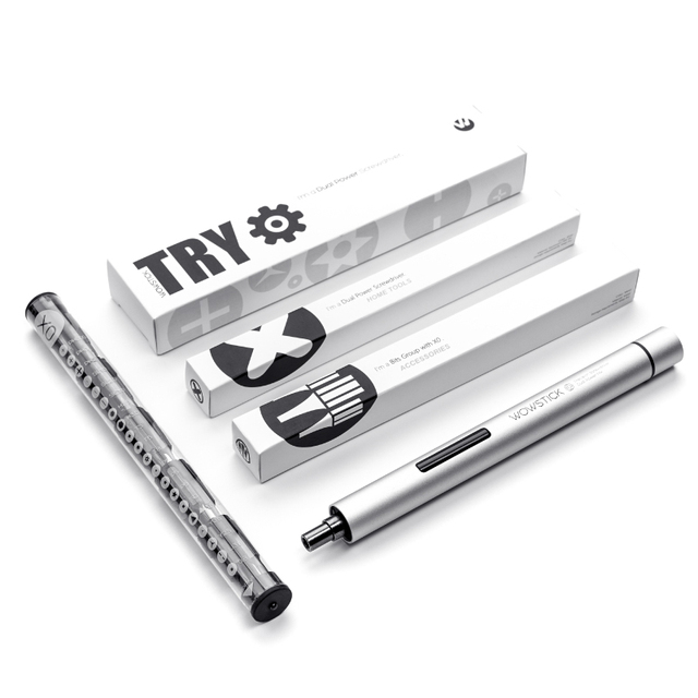 xiaomi Wowstick Try 20 In 1 Electric Screw driver Precision Mini Handheld Cordless Screw driver Household Tool Set