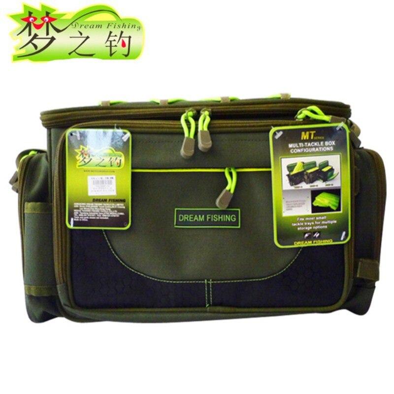 Dream Fish 45x15x25 cm sac de pêche étanche 12000D Nylon multifonctionnel carpe paquet de pêche pour outil attirail leurre tige Bolsa