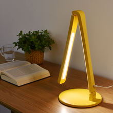 Fashion LED Desk Lamp Folding Touch Office Table Lamp 3-level Dimmer Natural Light Eye-caring Student Reading Light Study Lamp