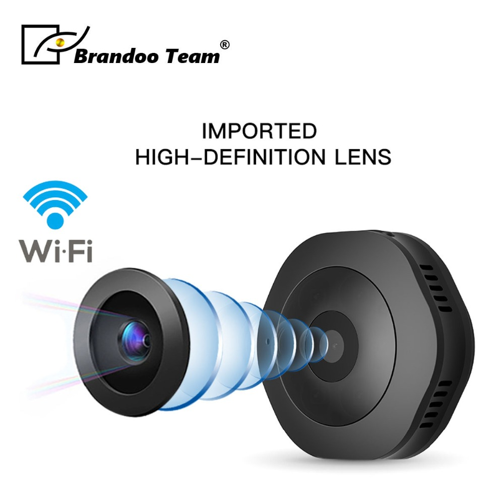 цена на Mini WiFi Camera H6 Cam 1080P Full HD Night Vision Small Portable Sports DV Camcorder