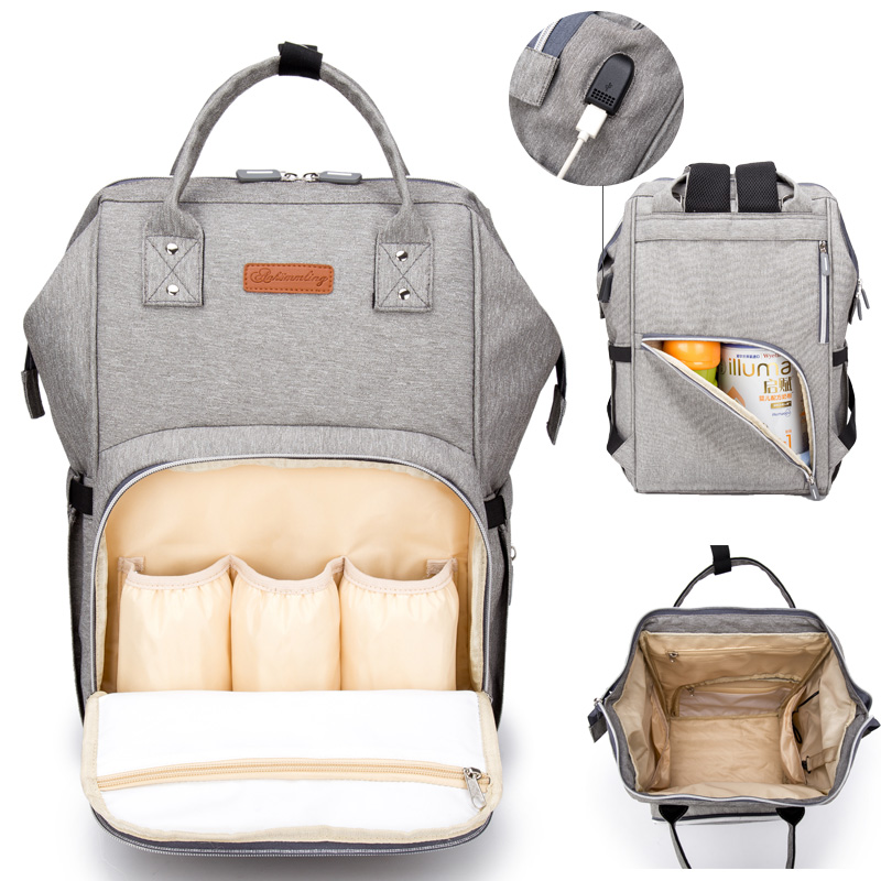 Plus Size Diaper Bags Mummy Maternity Nappy Changing Bag Large Capacity Baby Travel Backpack Multifunction Nursing Bag