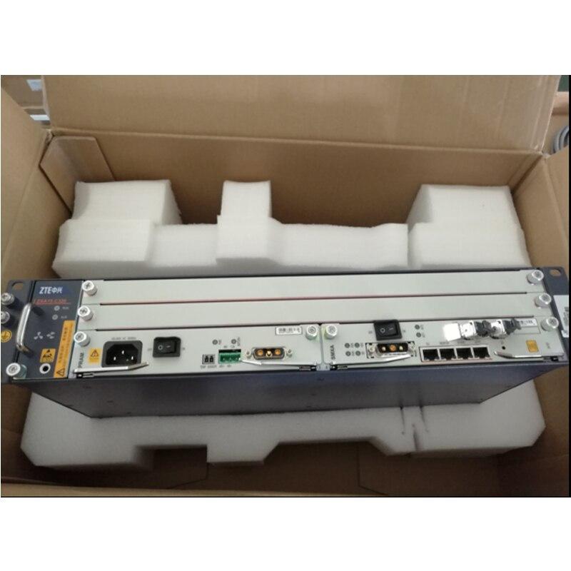 Оригинальный терминал оптической линии оборудования zte ZXA10 C320 Gigabit OLT с 2 * карта sxma, (DC Мощность) + GTGH 16 Gpon портов SFP C +