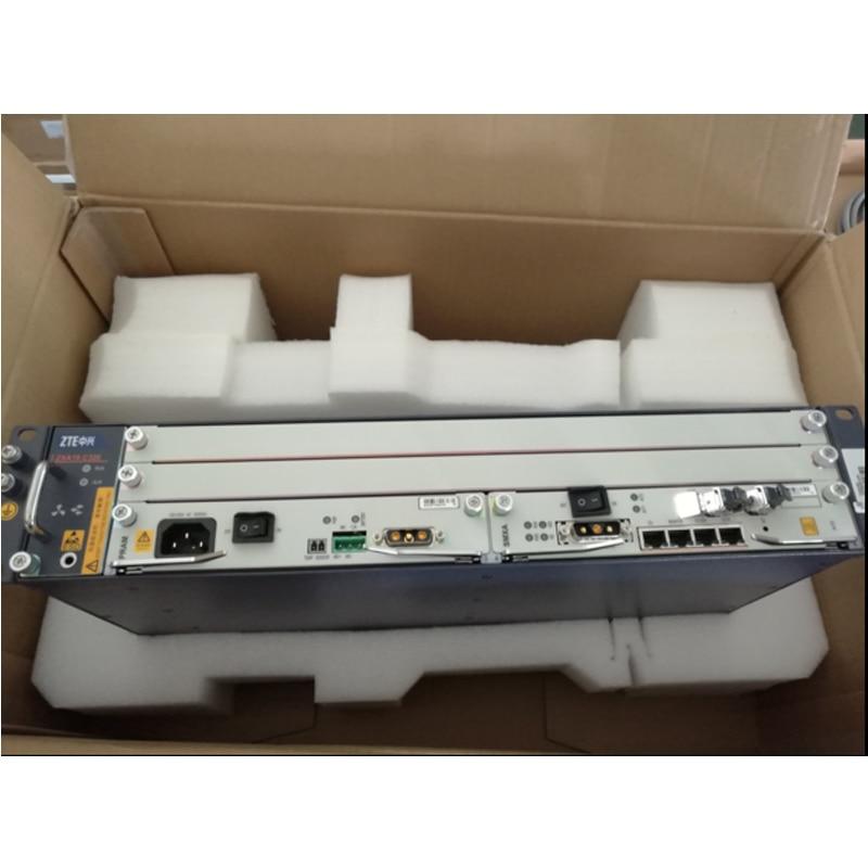D'origine terminal de ligne optique Équipements ZTE ZXA10 C320 Gigabit BTA avec 2 * SXMA carte, (DC Puissance) + GTGH 16 Gpon ports SFP C +