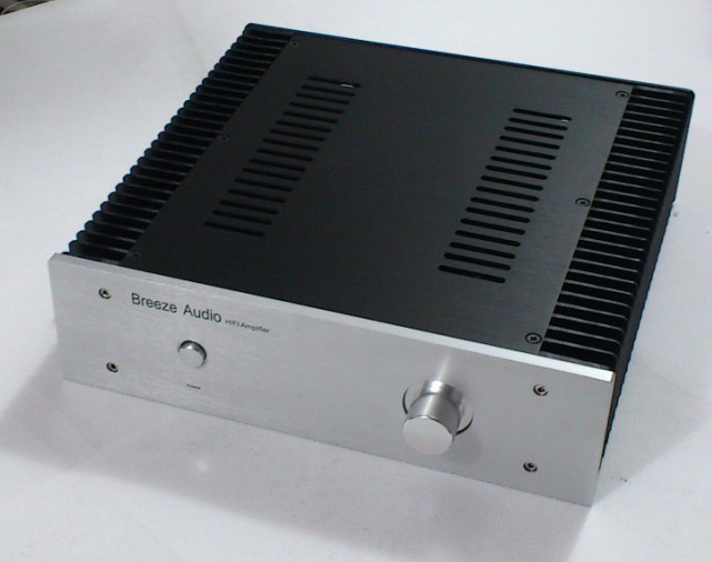3209 class A Full Aluminum amplifier Enclosure AMP case both side heatsink