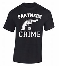 Partners In Crime Printed Friends Matching Men's T-Shirt