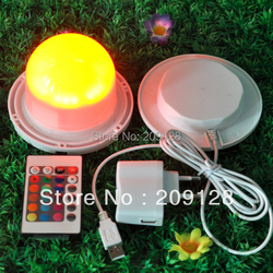 120mm IP68 Waterproof Battery Powered LED small Lighting Parts