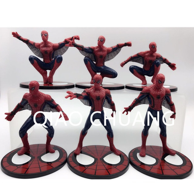 The Amazing Spider-Man Avengers Superhero Tobey Maguire Tom Holland Andrew Garfield Action Figure Toy Collectible Modelo L1424