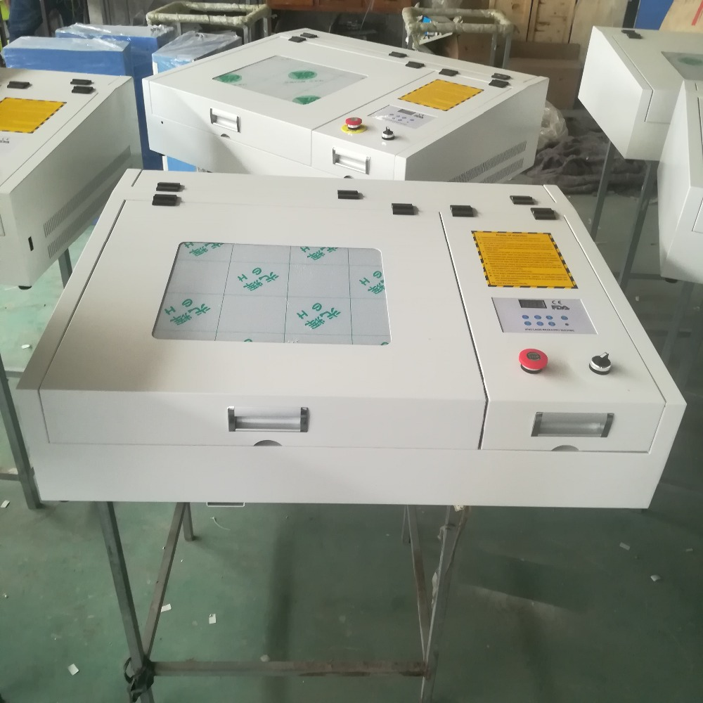 HTB1GqIGXynrK1RjSsziq6xptpXaz - 4040 laser engraving and cutting machine with 50w CO2 laser tube and gold laser head deliver by DHL or TNT or fedex to your door