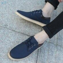 Мода 2017 г. британский стиль Для мужчин скраб Обувь круглый носок большой Размеры ботильоны кожаные сапоги рабочая обувь повседневная обувь для Для мужчин размеры 39–44
