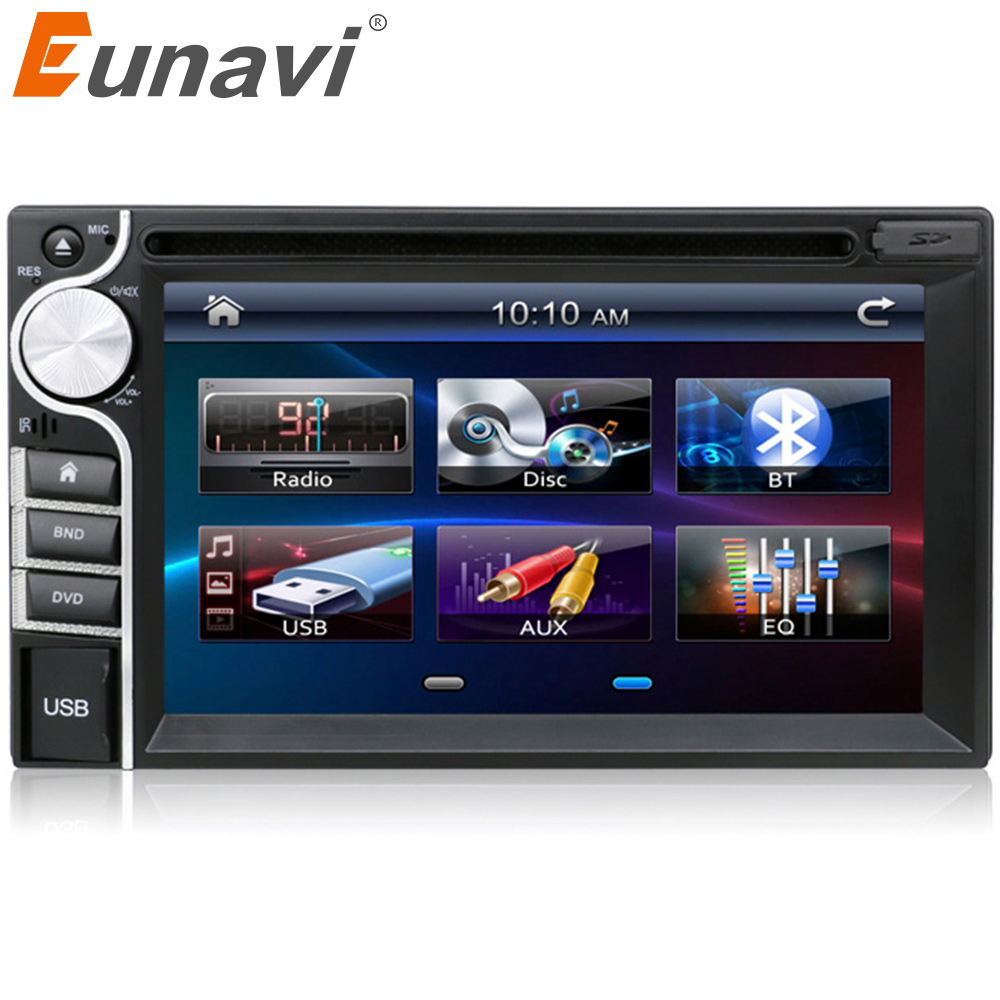2016 new 2 DIN Car DVD Player Double Radio Stereo In Dash MP3 Head Unit CD Camera parking <font><b>2DIN</b></font> HD TV Radio Video Audio image