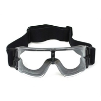 Airsoft Tactical Goggles Gafas de Esquí Gafas de Sol Gafas de seguridad Gafas de Motor Gafas Ciclismo Riding Protección de Los Ojos