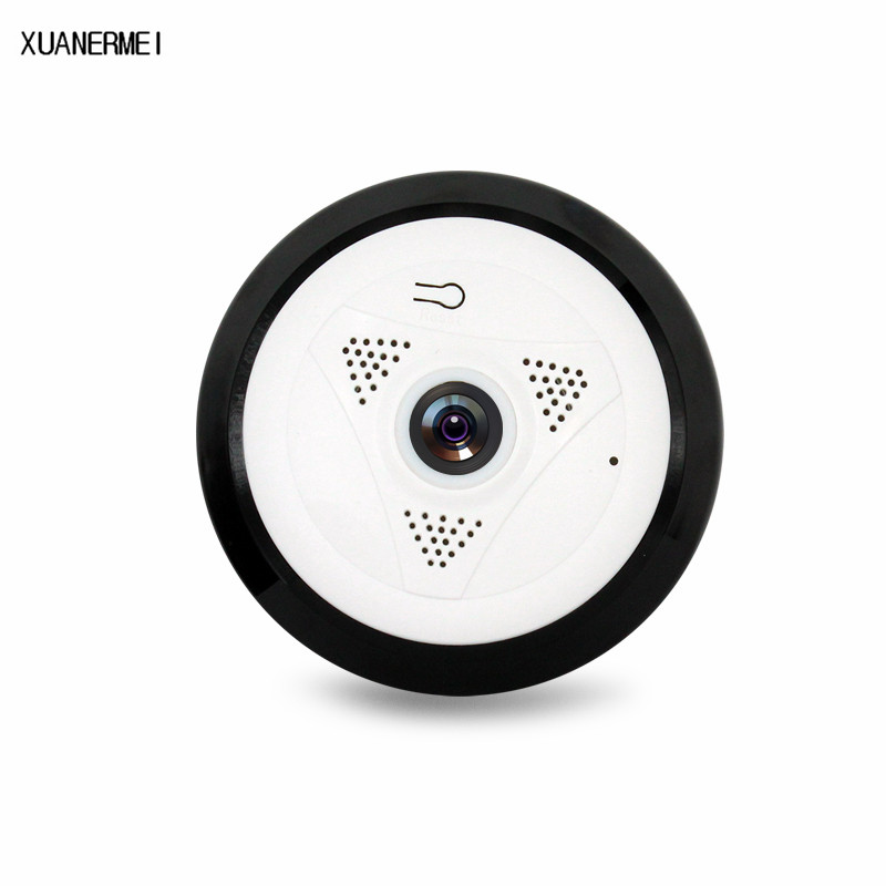HD FishEye IP camera Wireless 960P Mini CCTV Camera 1.3MP Network 360 Degree Home Security WiFi Camera Panoramic Infared Camera erasmart hd 960p p2p network wireless 360 panoramic fisheye digital zoom camera white